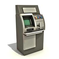3ds max automatic teller machine