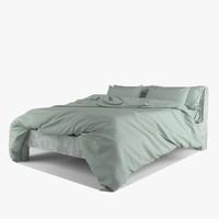 baxter summer bed paola 3d model