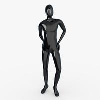 3d male mannequin model