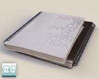 c4d notebook book