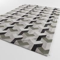 designer carpets ypsilon grey 3d model