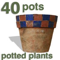 Cut Out - 40 pots