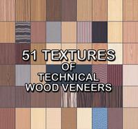 Collection of Technical Veneer Textures