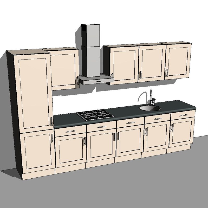 kitchen cabinet components revit kitchen cabinet components cabinets matttroy 18365