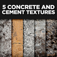 5 Concrete and Cement Textures