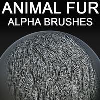 Animal Fur Alpha Brushes