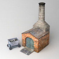 3d blacksmith smith