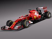 3d 2014 f1 formula model
