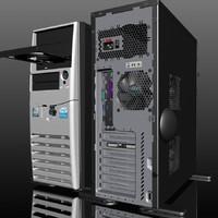 precision tower 3d model