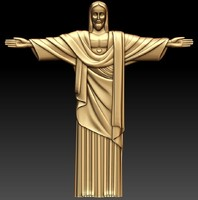 3ds relief statue christ rio