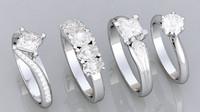 4 HQ Diamond Rings