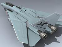 3d model f-14d super tomcat vf-124