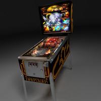 Real3D Pinball machine