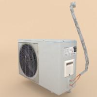 3d model air conditioner