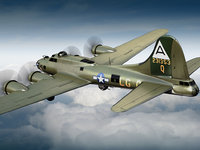 Boeing B-17 Super Fortress Bomber