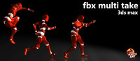 FBX Multi Take (3DS Max)