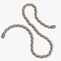 3d rope rig model