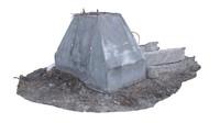 obj barricade concrete