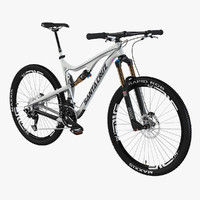 3dsmax santa cruz mountain bike