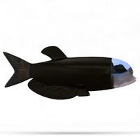 barrel-eye fish 3d max