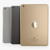 3d model ipad 3 colours