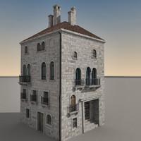 building italian 3d model