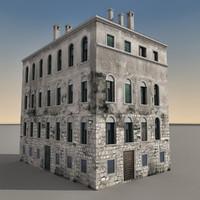 3ds max building italian