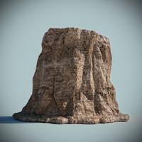 desert rock 3d