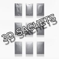 3d sachets shampoo conditioner