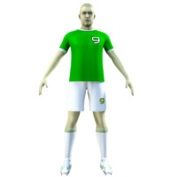 Soccer Player 06 Rigged