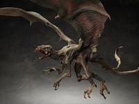 Harpy Bat Creature