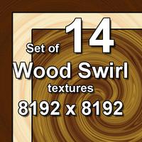 Wood Swirl 14x Textures