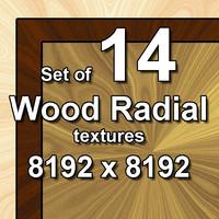 Wood Radial 14x Textures