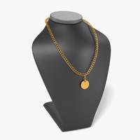 necklace dummy 3d 3ds