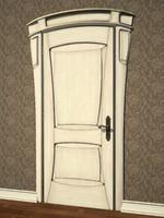 door art nouveau 3d max