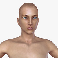 nude woman rigged max