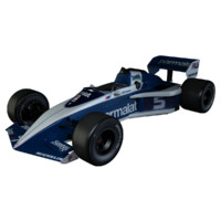 1983 brabham formula 1 3d max