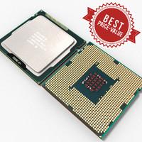 cpu intel celeron g465 3d model