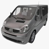 renault trafic 2013 3d model