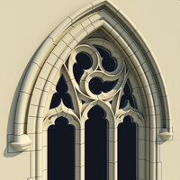 Small Arched Gothic Window - Type I