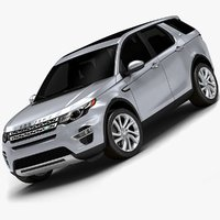 3d 2015 land rover discovery