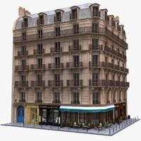 Paris Corner Tenement Restaurant 04