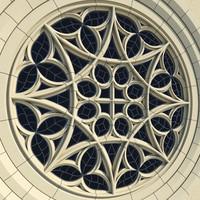 Gothic Rose Window - Collegiate of Covarrubias