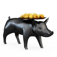 3d model moooi pig