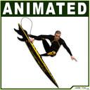 surfer 3D models