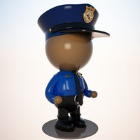 max police officer character