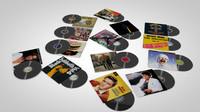 3d vinyl records covers model
