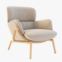 Luca Nichetto 101 Elysia Lounge Chair