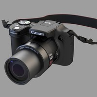 camera canon powershot sx510 3ds