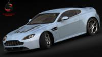 aston martin v12 vantage 3d model